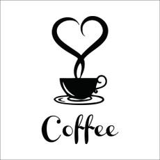 Coffee, art, Restaurant, Wall