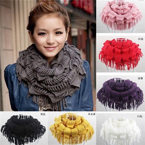 Tassels, women scarf, tasselscarf, Winter