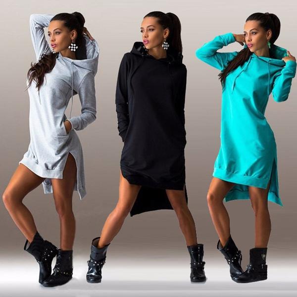Fashion, Sleeve, Sweatshirts & Hoodies, Long Sleeve