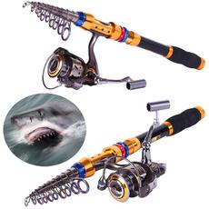 telescopic fishing rod pole