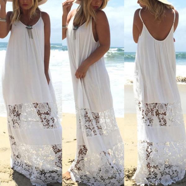 bathing suit, strapless, Lace, women dresses