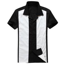 Fashion, clubwear, bowlingshirt, short sleeves
