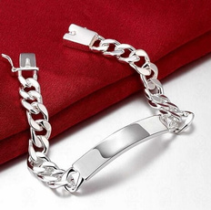 Sterling, Bright, Fashion, Jewelry