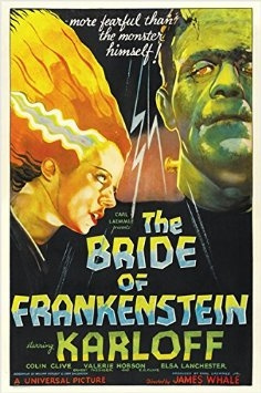 posters & prints, frankensteinsbridecampyposter, printsposter, movieposter