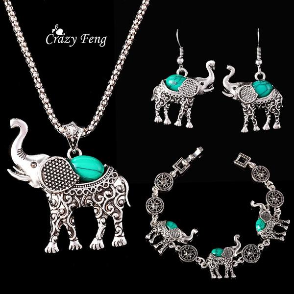 Jewelry Set, Turquoise, Jewelry, Bracelet