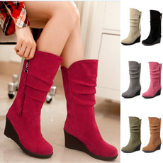 platformboot, midcalfboot, Cotton, Winter