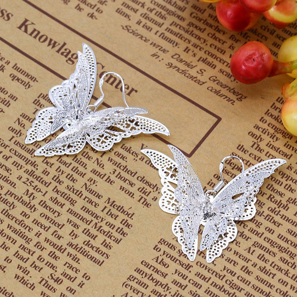 butterfly, Sterling, 925 sterling silver, Jewelry