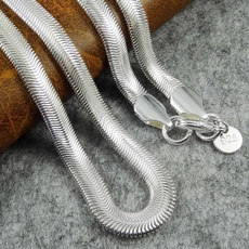 Sterling, Flats, 925 sterling silver, Chain
