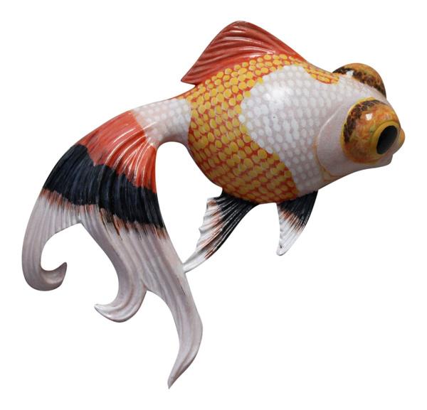 Decor, tropicalfish, polyresin, bathbedding