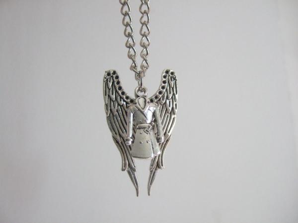 Chain Necklace, supernaturaldeanpendantnecklace, Chain, jensenackle