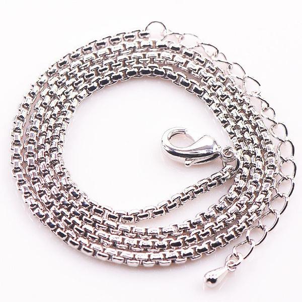 925sterlingsilverchainnecklace, 925 sterling silver, Jewelry, Chain