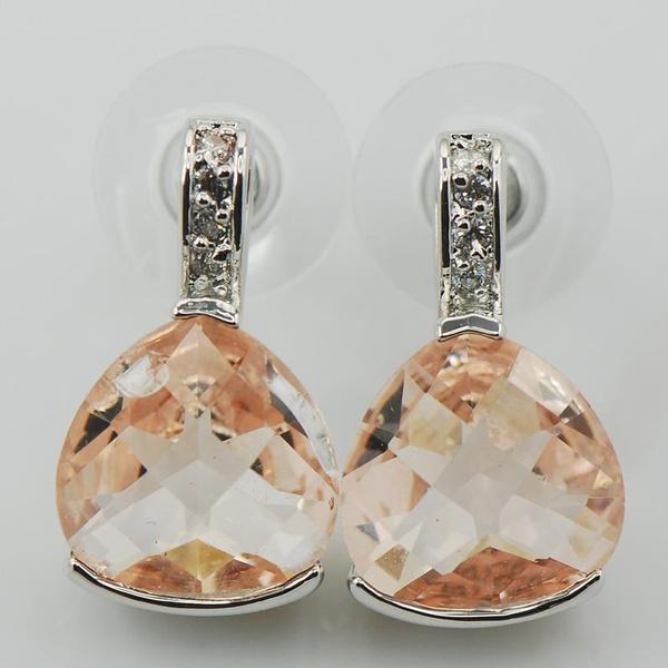 Sterling, 925 sterling silver, Jewelry, morganite