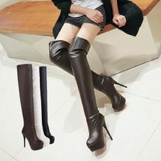 Fashion, knightboot, Womens Shoes, Bottom