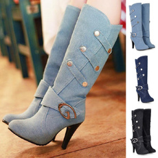 Blues, combat boots, Fashion, Leather Boots