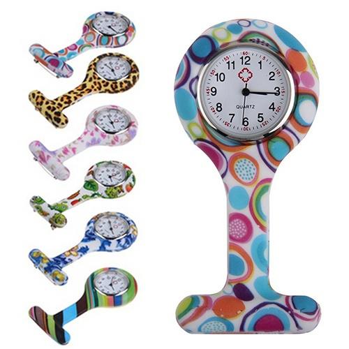 nurseswatch, quartz, silicone watch, Silicone