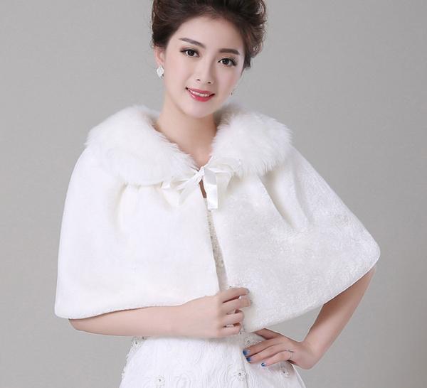 fur, Bride, Shawl, brideshrug