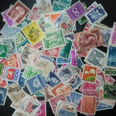 postagestamp, Vintage, poststamp, stempel