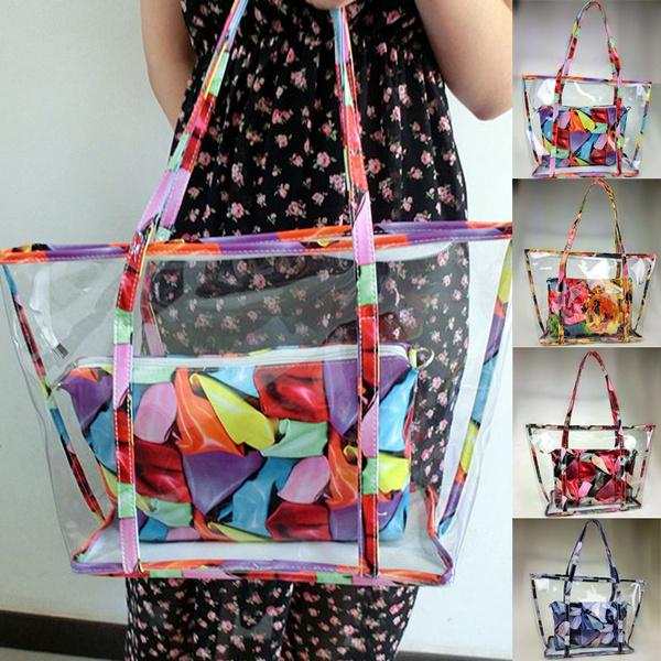 Storage & Organization, beachbag, transparentbag, Tote Bag
