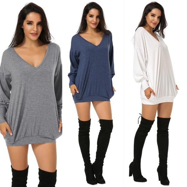 women pullover, blouse, Fashion, sweater dress