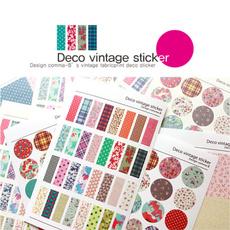 giftsforkid, Floral, vintagesticker, Stickers