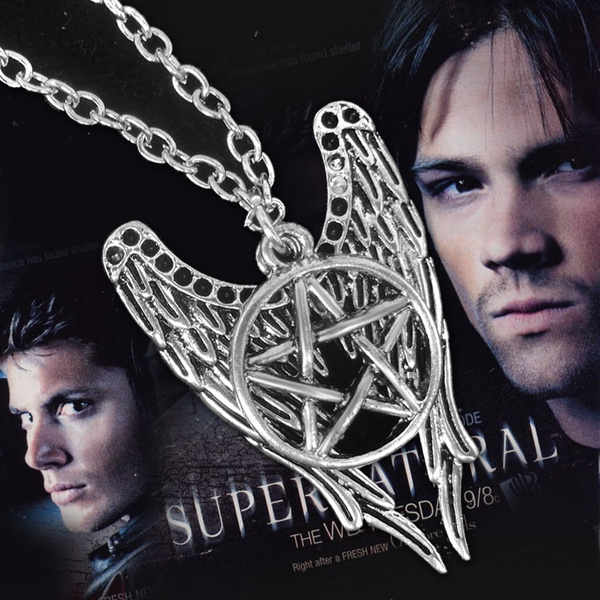 supernatural, Jewelry, Angel, supernaturalnecklace