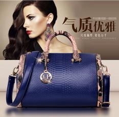 Fashion women's handbags, Shoulder Bags, Bags, leather
