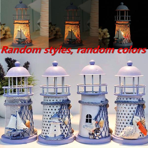 Candleholders, lighthouse, Home Decor, tabledecor