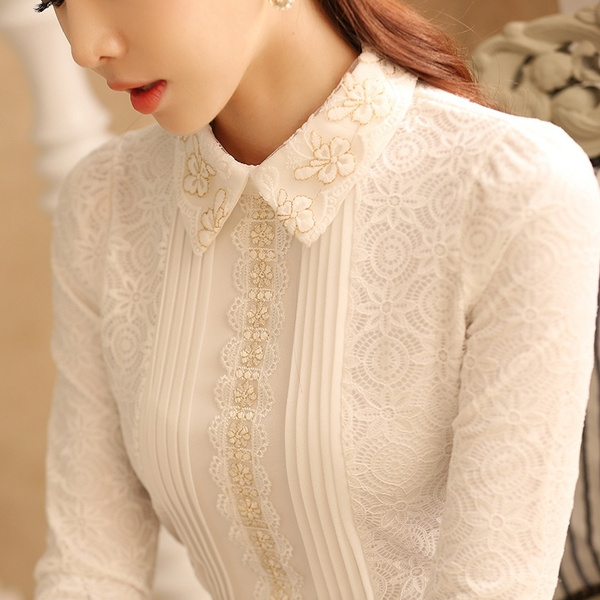 Casual Korean Casual Fashion T-shirts Women T-Shirt Elegant Blouses Ladies P