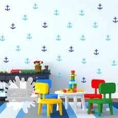 anchorvinyl, nauticalsticker, art, anchornursery