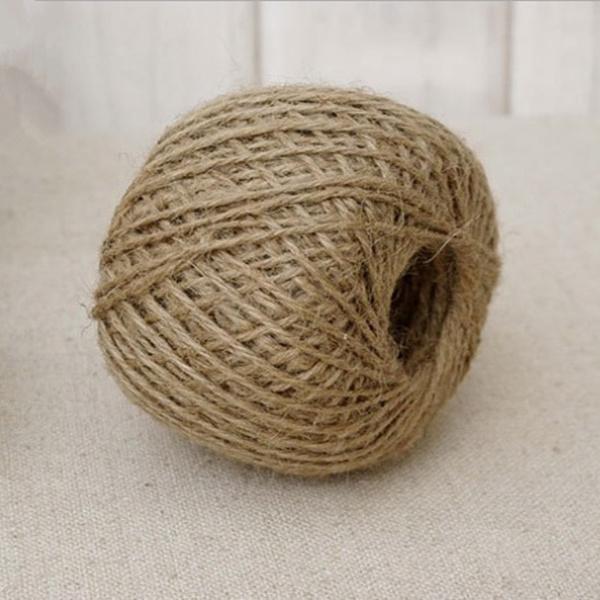Decorative, Rope, Natural, brown