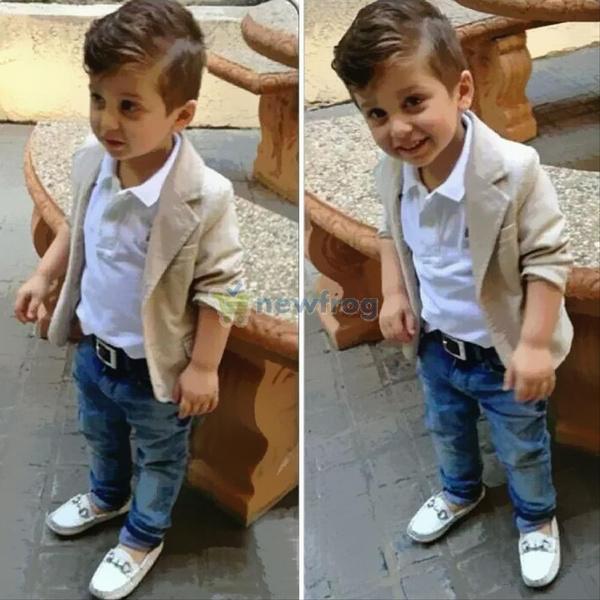 boyslongsleevecoat, trousers, gentlemanbabyclothing, Sleeve