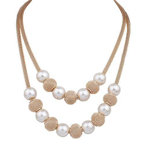 Beautiful, Chain Necklace, Fashion, doublechainsnecklace