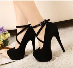 womenshighheel, Fashion, Platform Shoes, anklestrapheel