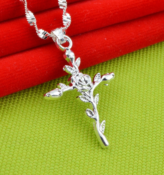 Sterling, Jewelry, Chain, sweater chains