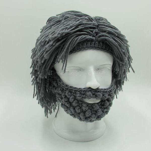 wig, Funny, Beanie, Fashion