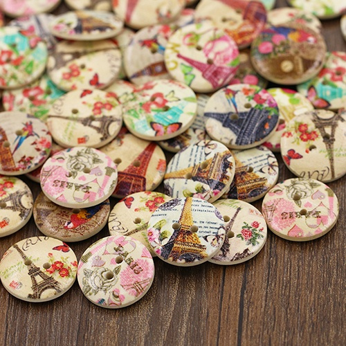 sewingbutton, Fashion, Clothing & Accessories, Wooden