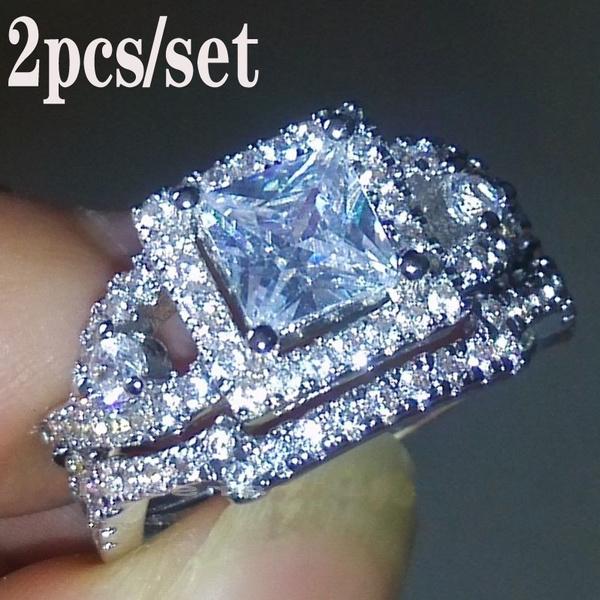 setweddingring, White Gold, Cut, Jewelry