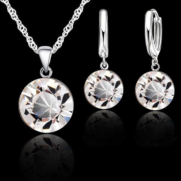 Sterling, 8MM, Set, Jewelry