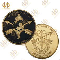 Antique, greenberet, coincollectible, coinplated