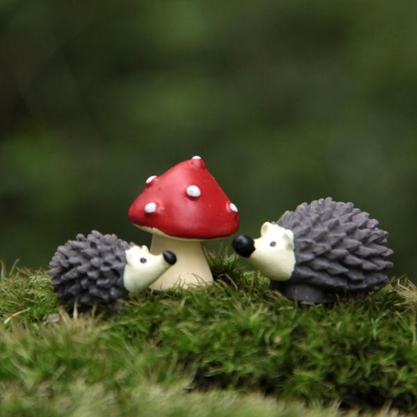 cute, Home Decor, Mushroom, Mini