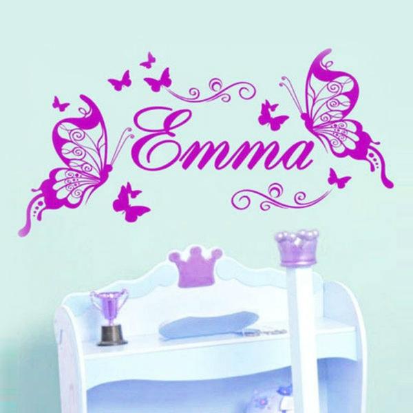 decoration, Decor, Butterflies, name