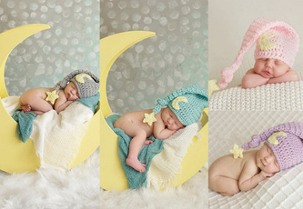 Fashion, babyphotocrochethat, Stockings, Hats