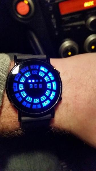 LED Watch, Blues, Sport, nightlightwatch