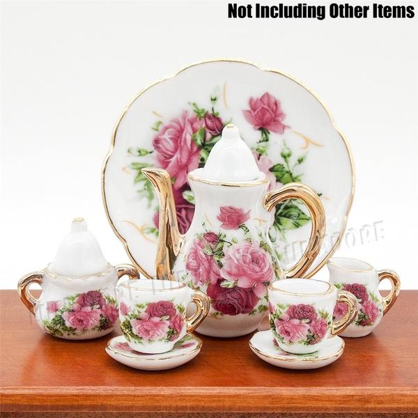 112miniature, golden, Kitchen & Dining, Ceramic