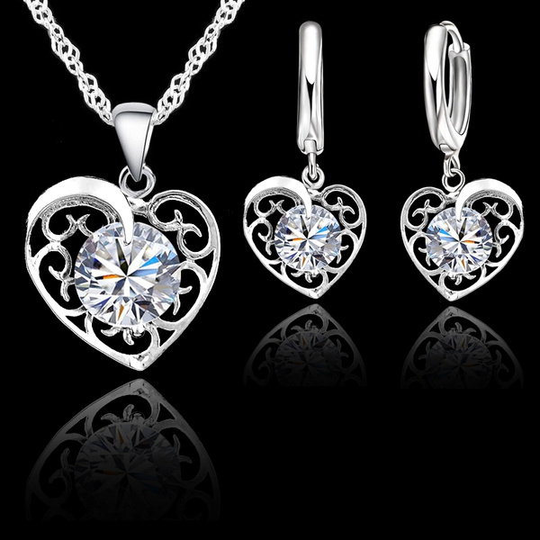 Sterling, Cubic Zirconia, Woman, Jewelry
