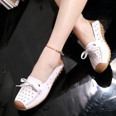ballerina, Flip Flops, Woman, Flats
