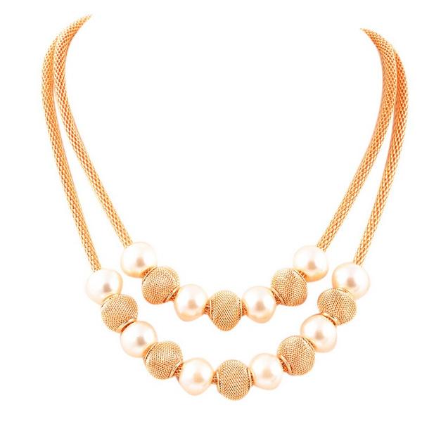 pearl jewelry, Jewelry, Chain, Metal