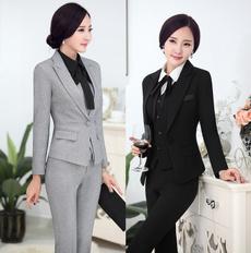 ladiesuniform, womentrouserssuit, women pants suit, Office