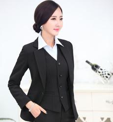 Fashion, womenblazersandjacket, Office, Long Sleeve
