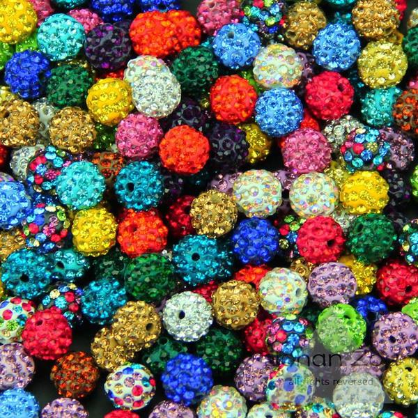 Necklace, diy, crystalbead, loosebeadsformaking